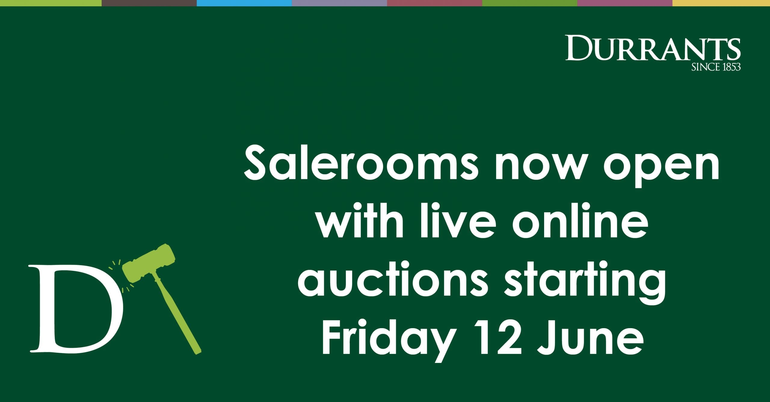 auction rooms reopen