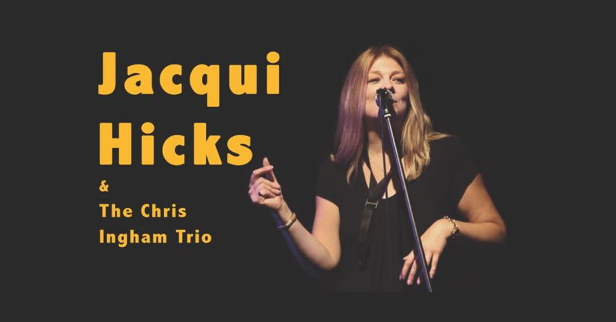 Jacqui Hicks and The Chris Ingham Trio at Southwold Jazz Club