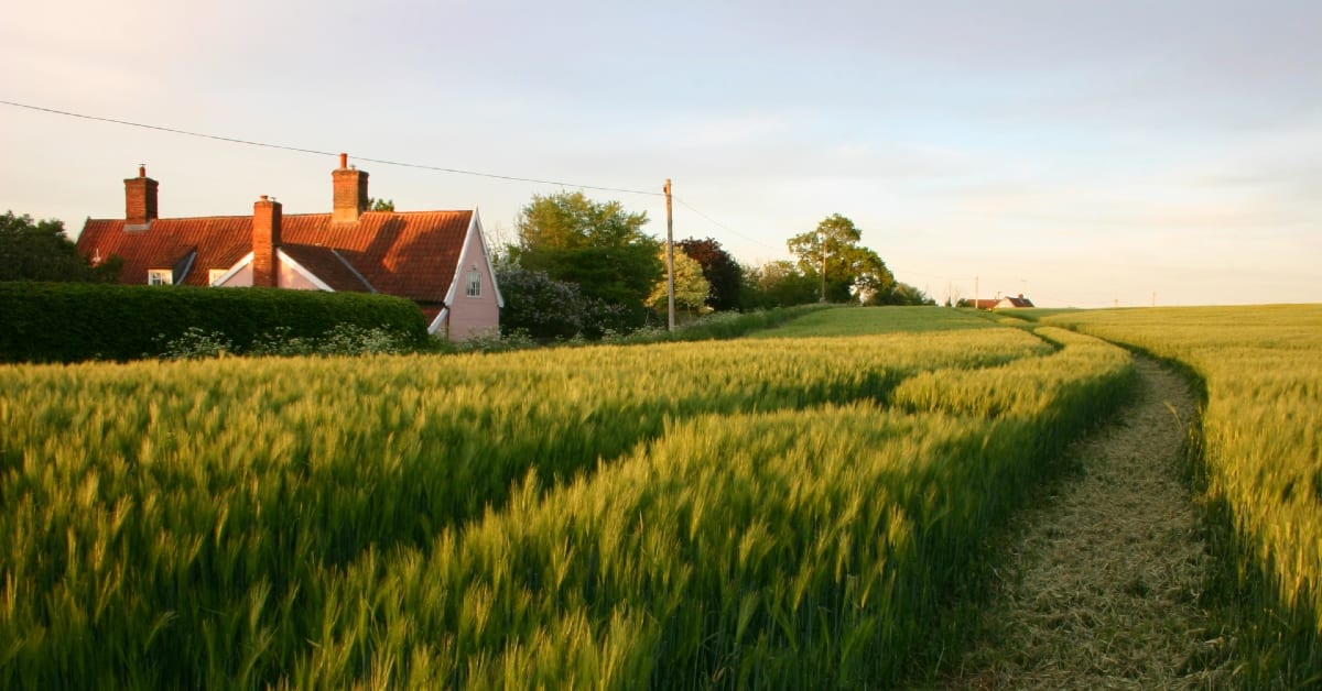 Demand for Suffolk countryside properties increases due to covid