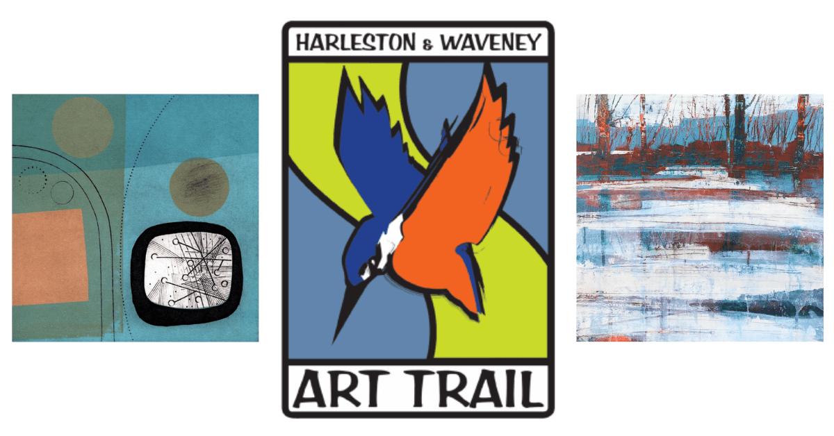 Harleston and Waveney Art Trail sponsored by Durrants