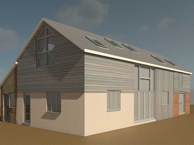 Permission for the conversion of a barn to a dwelling, Suffolk