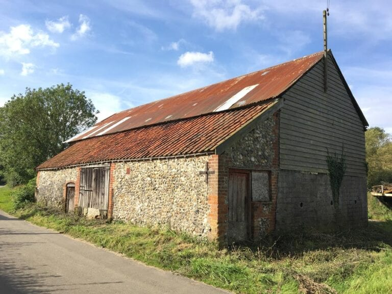 Barm conversion planning permission in Mendham, Suffolk