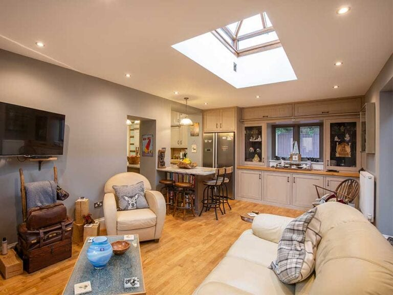 Single storey extension to Victorian cottage