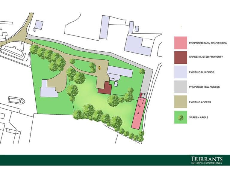 Design of farm building conversion in Halesworth, Suffolk