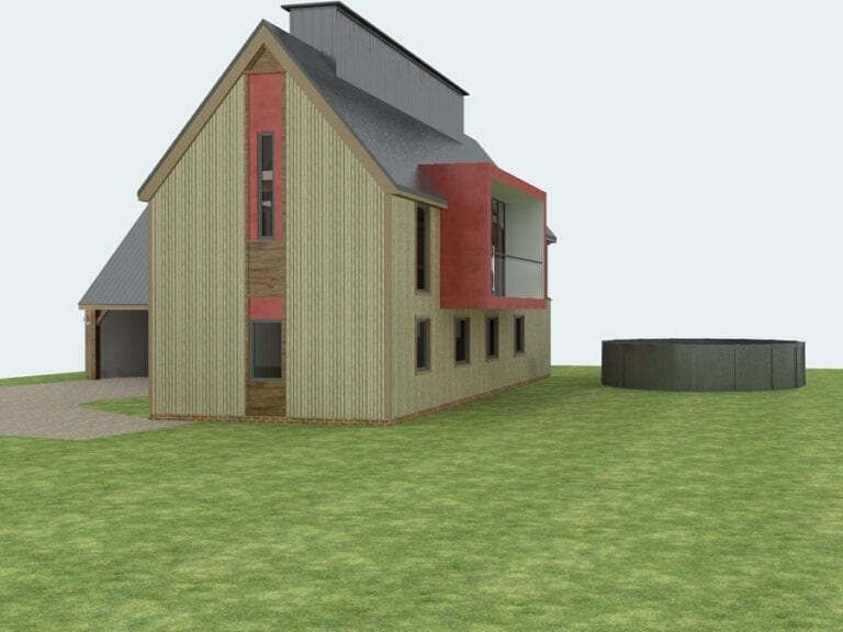 planning consent for dwelling in hoxne, suffolk