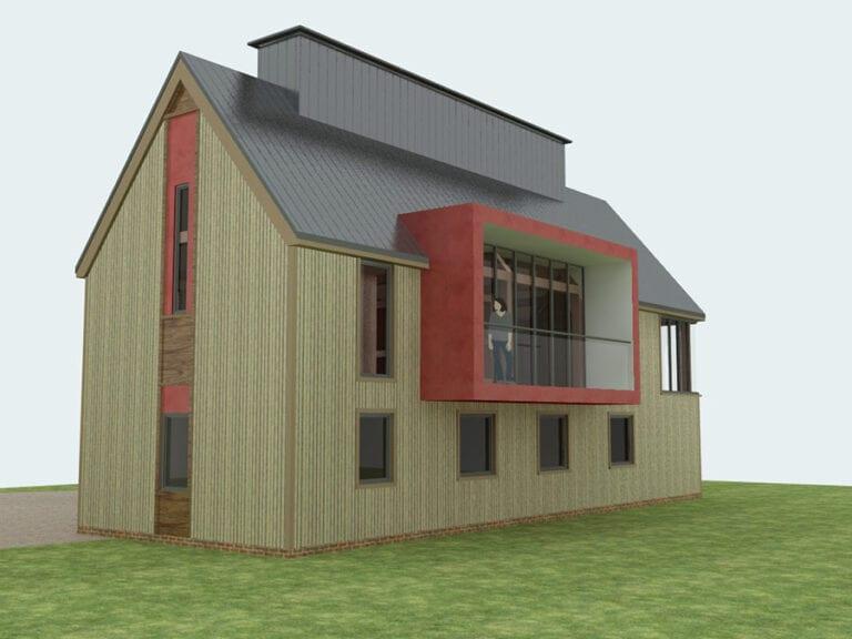 Residential Build in Suffolk village