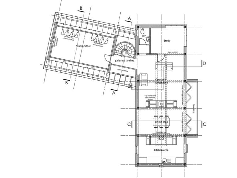 New Building planning permission in Hoxne, Suffolk