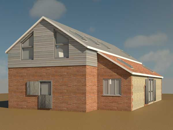 Planning approval for barn conversion, Mendham, Suffolk