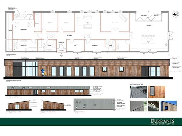 Farm building conversion planning approval, Halesworth, Suffolk