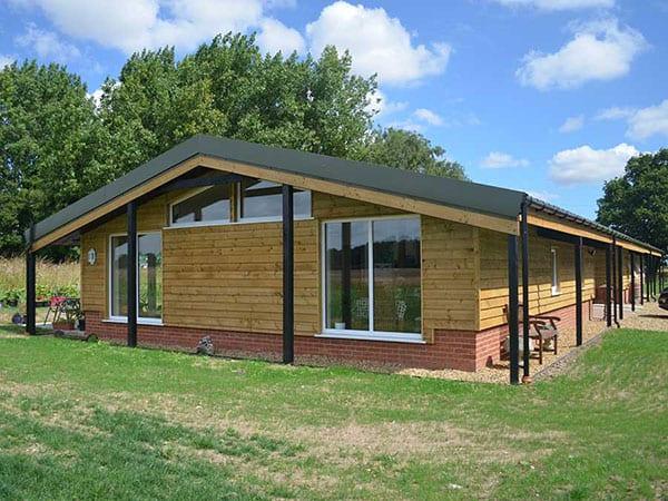 Farm building conversion, Bunwell, Norfolk