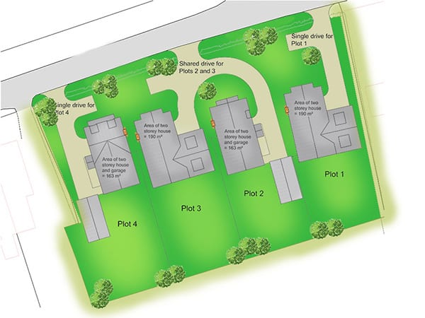 Planning permission for residential development, Dickleburgh, Norfolk