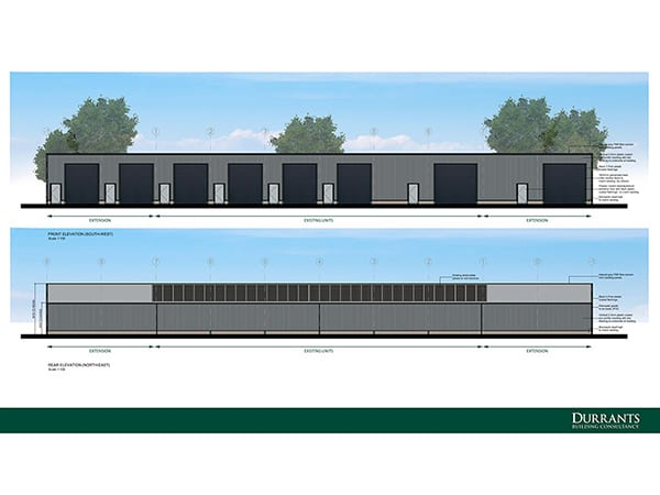 Commercial planning and design for business park, Ditchingham, Norfolk