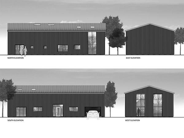 Farm building conversion, Tibenham, Norfolk