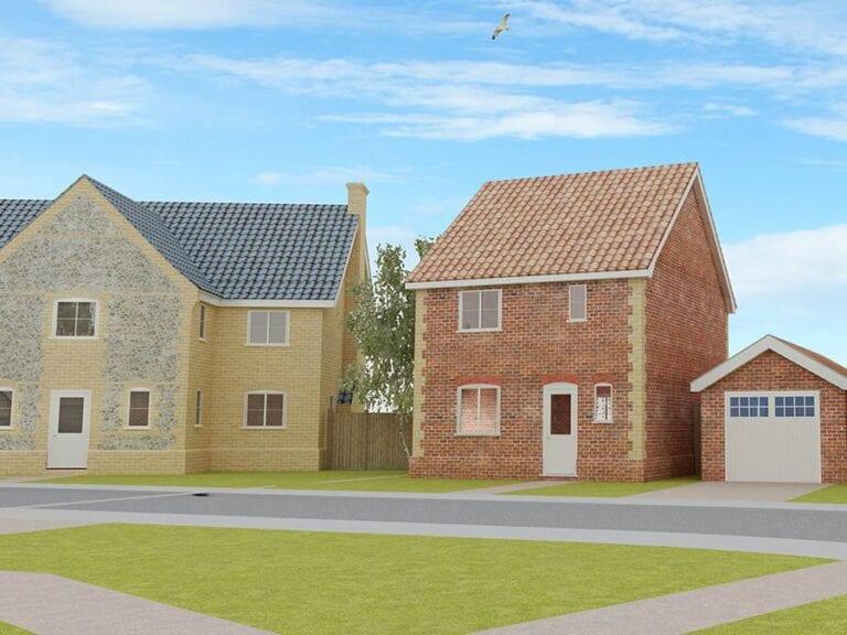 residential development East Harling