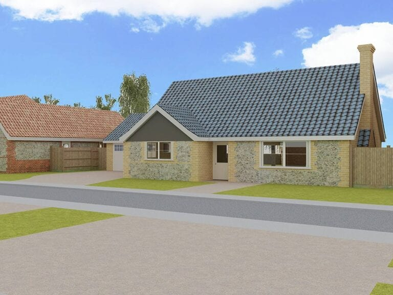 Development by Cloverfield Homes