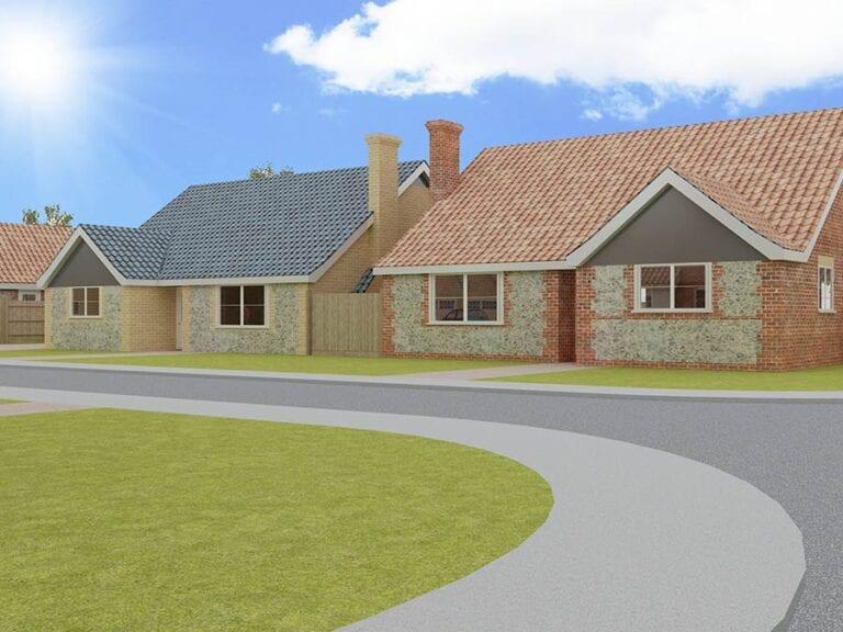 Norfolk housing development