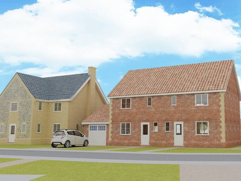 Roxbury Drive, Norfolk developement