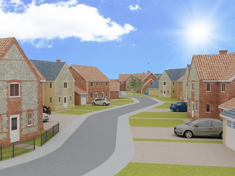 Residential development, east harling, Norfolk