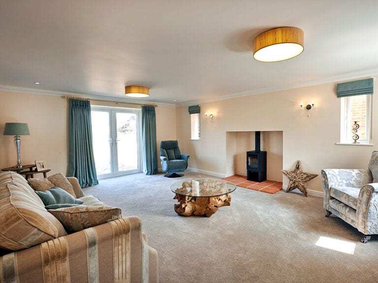 Sitting Room, Roxbury Drive, Norfolk developement