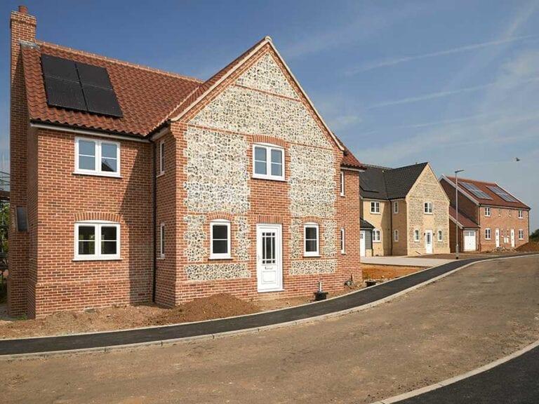 development of new houses in East Harling Norfolk