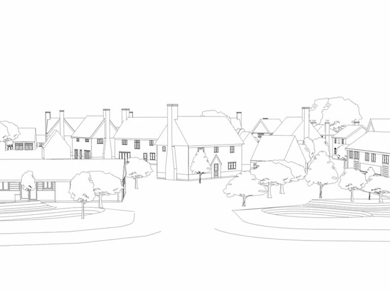 Design of dwellings for private client