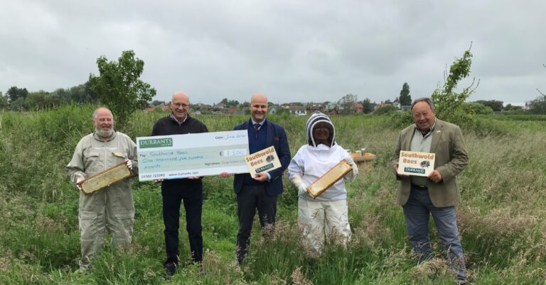 southwold bees supported by Durrants